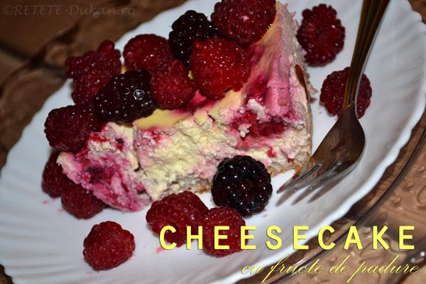 cheesecake dukan reteta